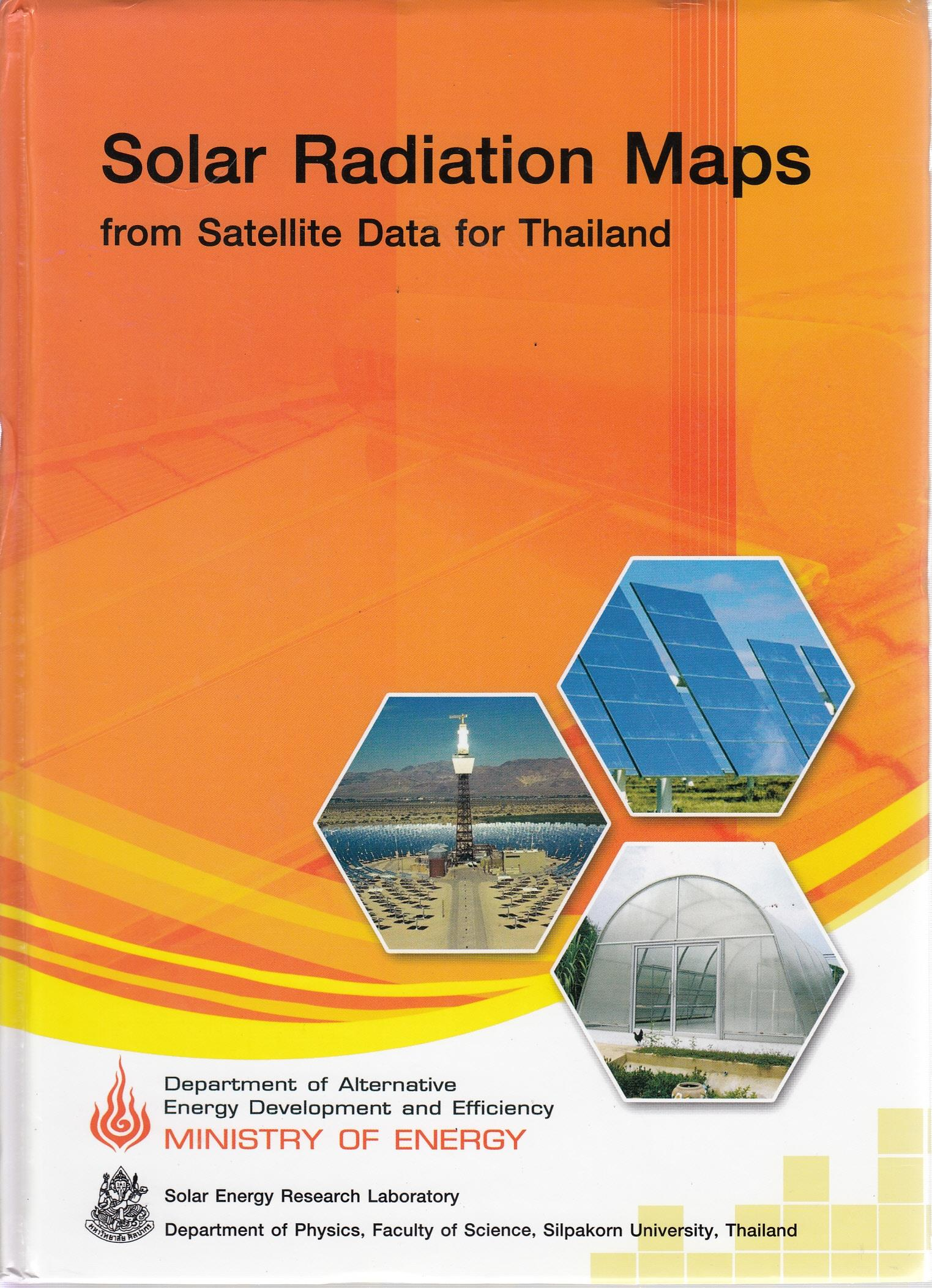 OPAC2 - Solar radiation maps from satellite data for Thailand